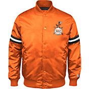 Starter Men's Baltimore Orioles Orange Button Down Jacket