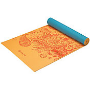 Gaiam 5mm Printed Reversible Yoga Mat