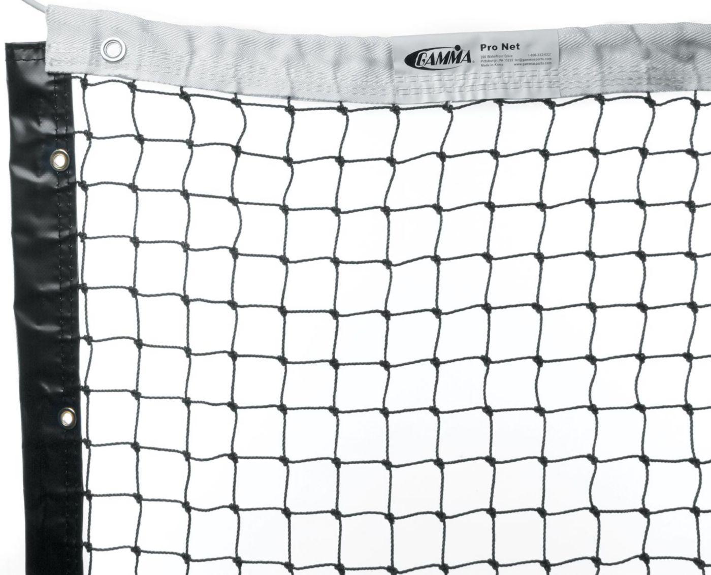 GAMMA Pro Tennis Net - Polyester Headband
