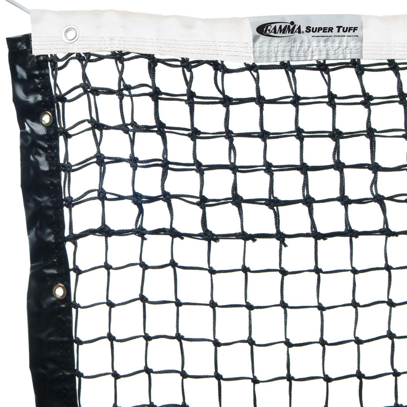 GAMMA Super Tuff Tennis Net - Polyester