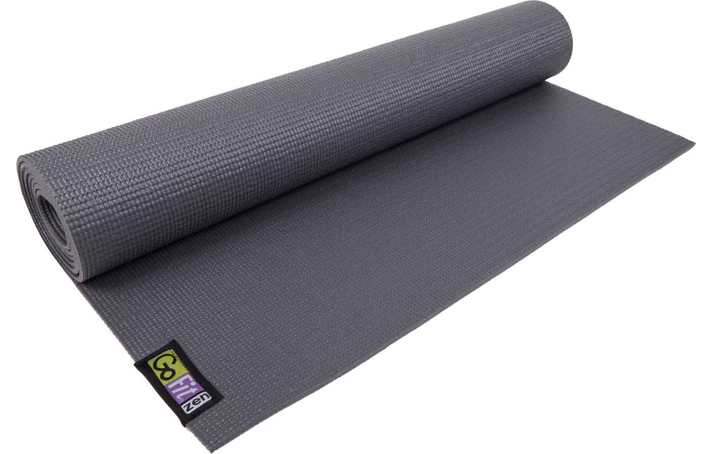 GoFit 3 mm Yoga Mat with Posture Poster