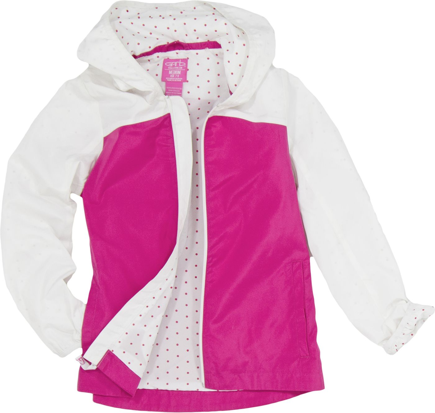 Garb Girls' Toddler Brooklyn Full-Zip Golf Jacket