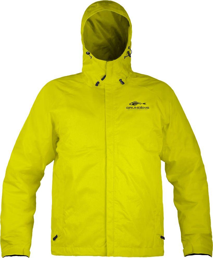 Grundéns Men's Weather Watch Full Zip Jacket, XS, Hi Vis Yellow