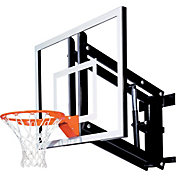 "Goalsetter 54"" Adjustable Acrylic Backboard HD Breakaway Rim"