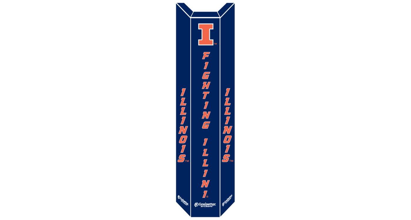 Goalsetter Illinois Fighting Illini Basketball Pole Pad