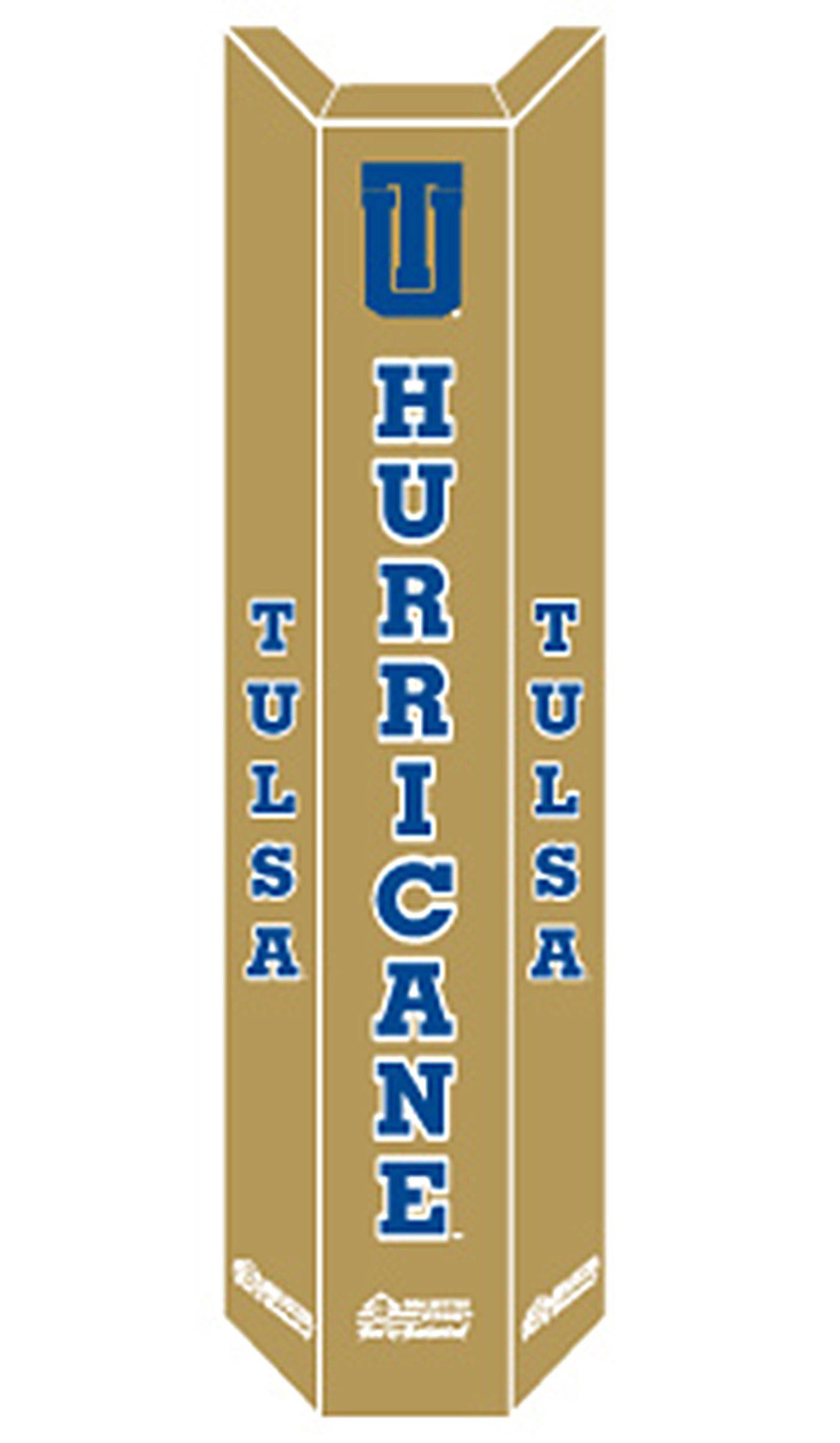 Goalsetter Tulsa Golden Hurricane Basketball Pole Pad