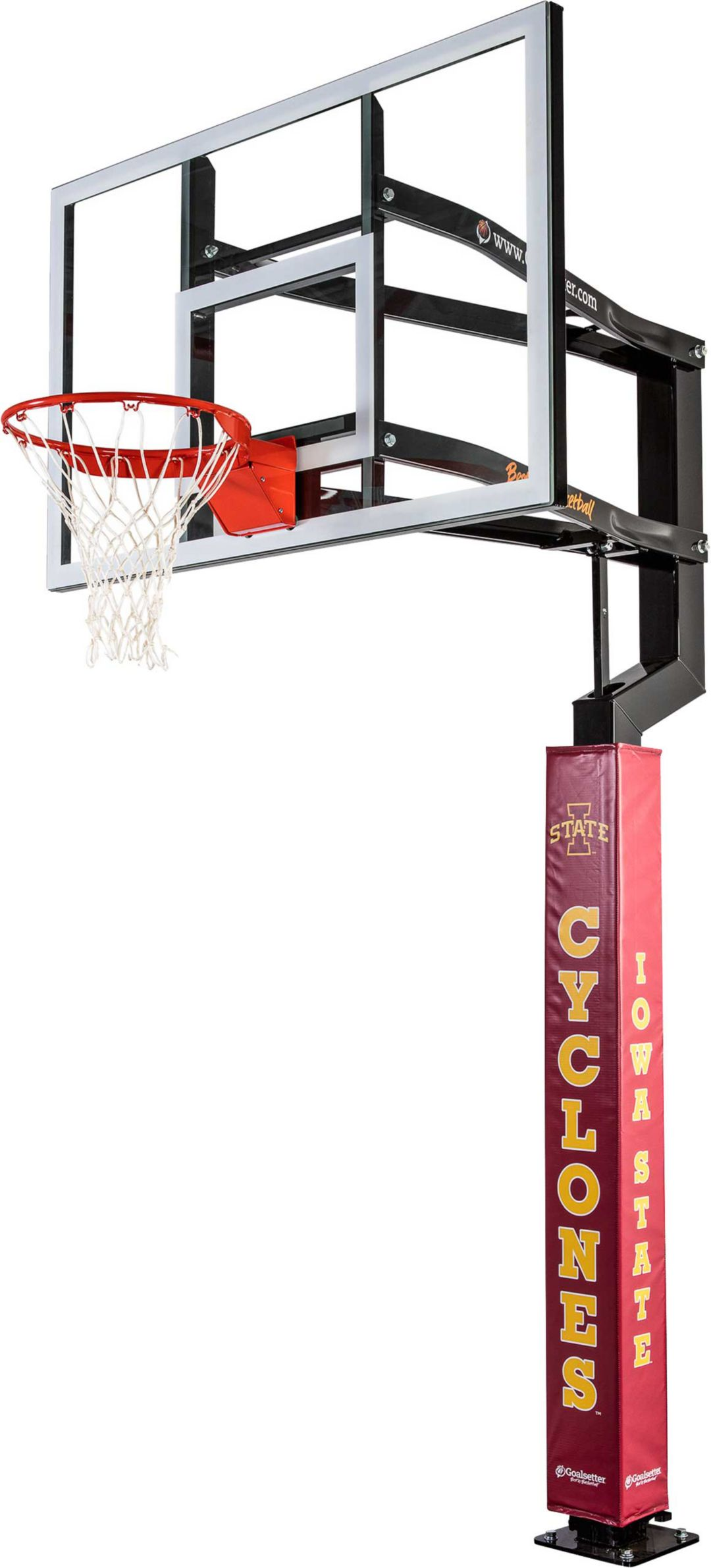 d8ddc3758cd Goalsetter Iowa State Cyclones Basketball Pole Pad | DICK'S Sporting ...