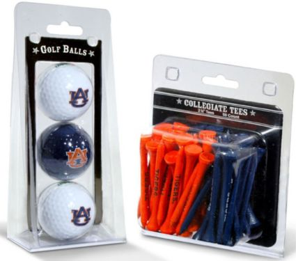 Team Golf Auburn Tigers Golf Balls And Tees