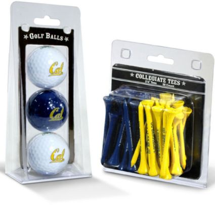 Team Golf Cal Bears Golf Balls And Tees
