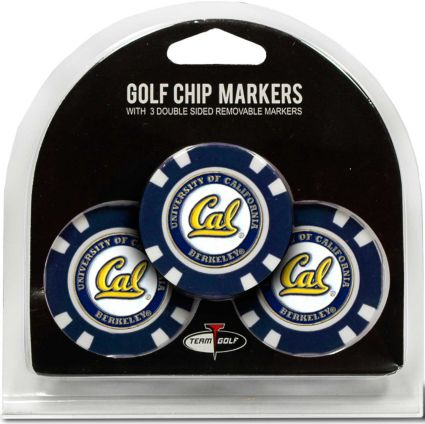 Team Golf Cal Bears Golf Chips - 3 Pack