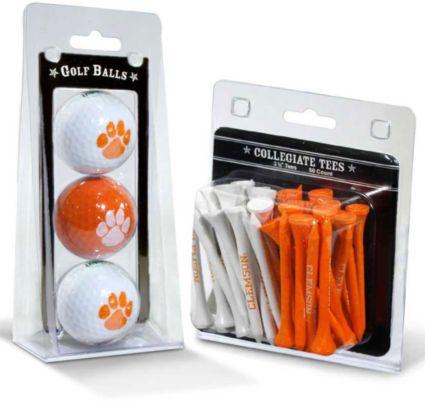 Team Golf Clemson Tigers Golf Balls And Tees
