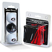 Team Golf Georgia Bulldogs Golf Ball and Tee Set