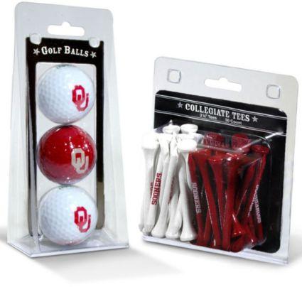 Team Golf Oklahoma Sooners Golf Balls And Tees