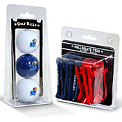 Team Golf Kansas Jayhawks Golf Ball and Tee Set