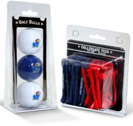 Team Golf Kansas Jayhawks Golf Balls And Tees