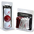 Team Golf Alabama Crimson Tide Golf Ball and Tee Set