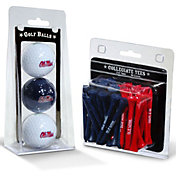 Team Golf Ole Miss Rebels Golf Ball and Tee Set
