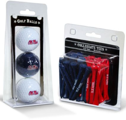 Team Golf Ole Miss Rebels Golf Balls And Tees