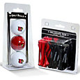 Team Golf Louisville Cardinals Golf Ball and Tee Set