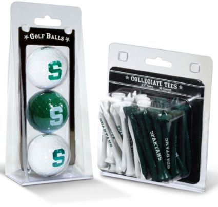 Team Golf Michigan State Spartans Golf Balls And Tees