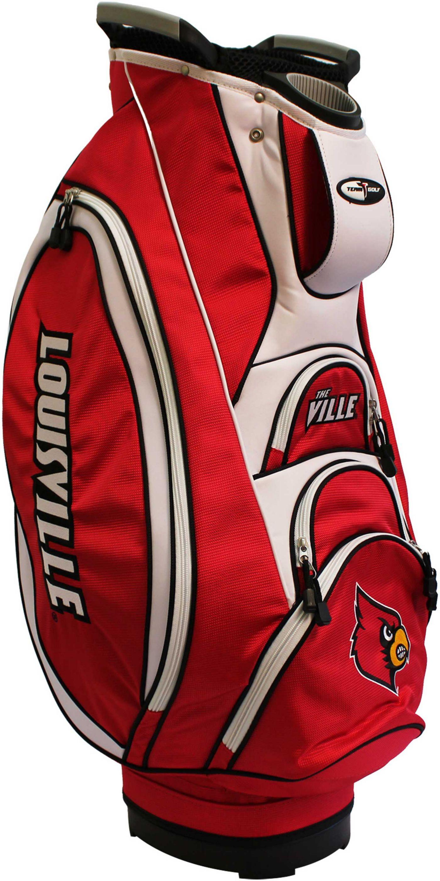 Team Golf Victory Louisville Cardinals Cart Bag