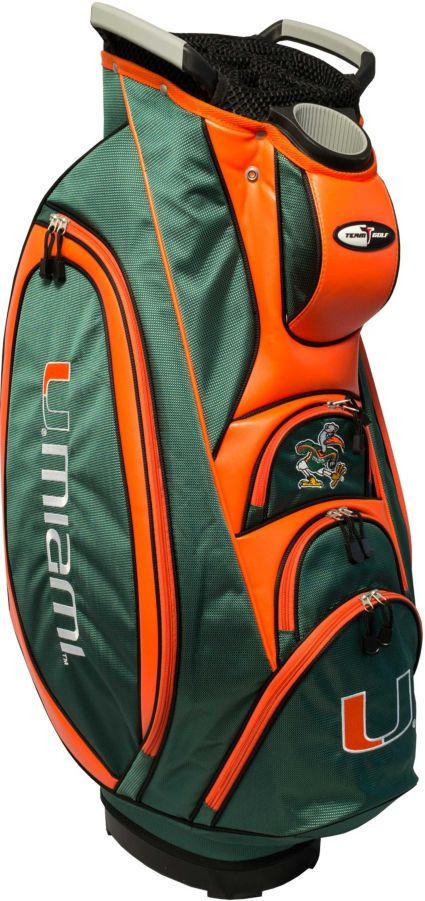 Team Golf Victory Miami Hurricanes Cart Bag Star Borderstar Border