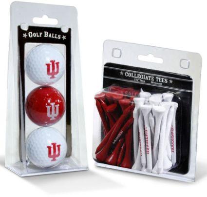 Team Golf Indiana Hoosiers Golf Balls And Tees