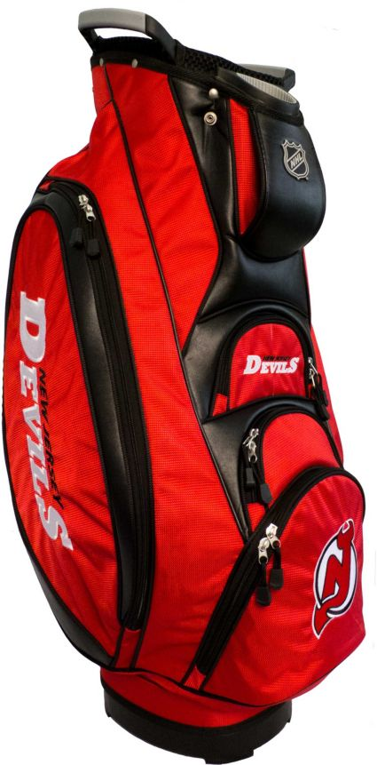 Team Golf Victory New Jersey Devils Cart Bag