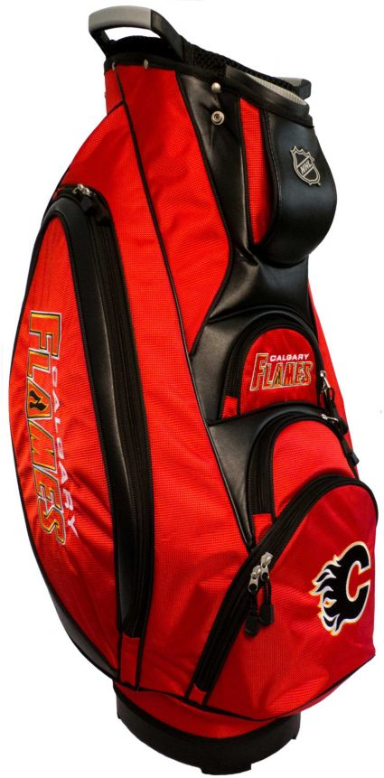 Team Golf Victory Calgary Flames Cart Bag