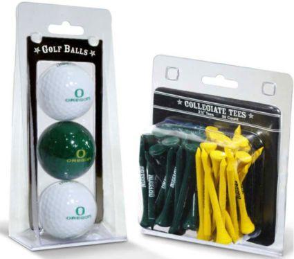 Team Golf Oregon Ducks Golf Balls And Tees