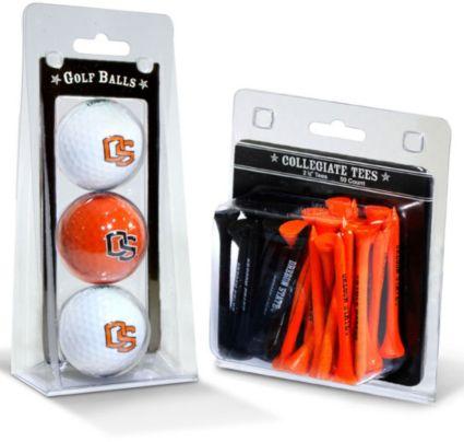 Team Golf Oregon State Beavers Golf Balls And Tees
