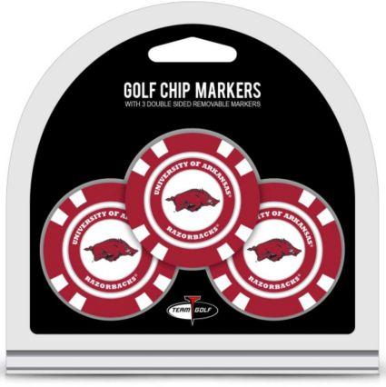Team Golf Arkansas Razorbacks Golf Chips - 3 Pack