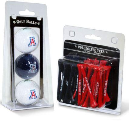 Team Golf Arizona Wildcats Golf Balls And Tees