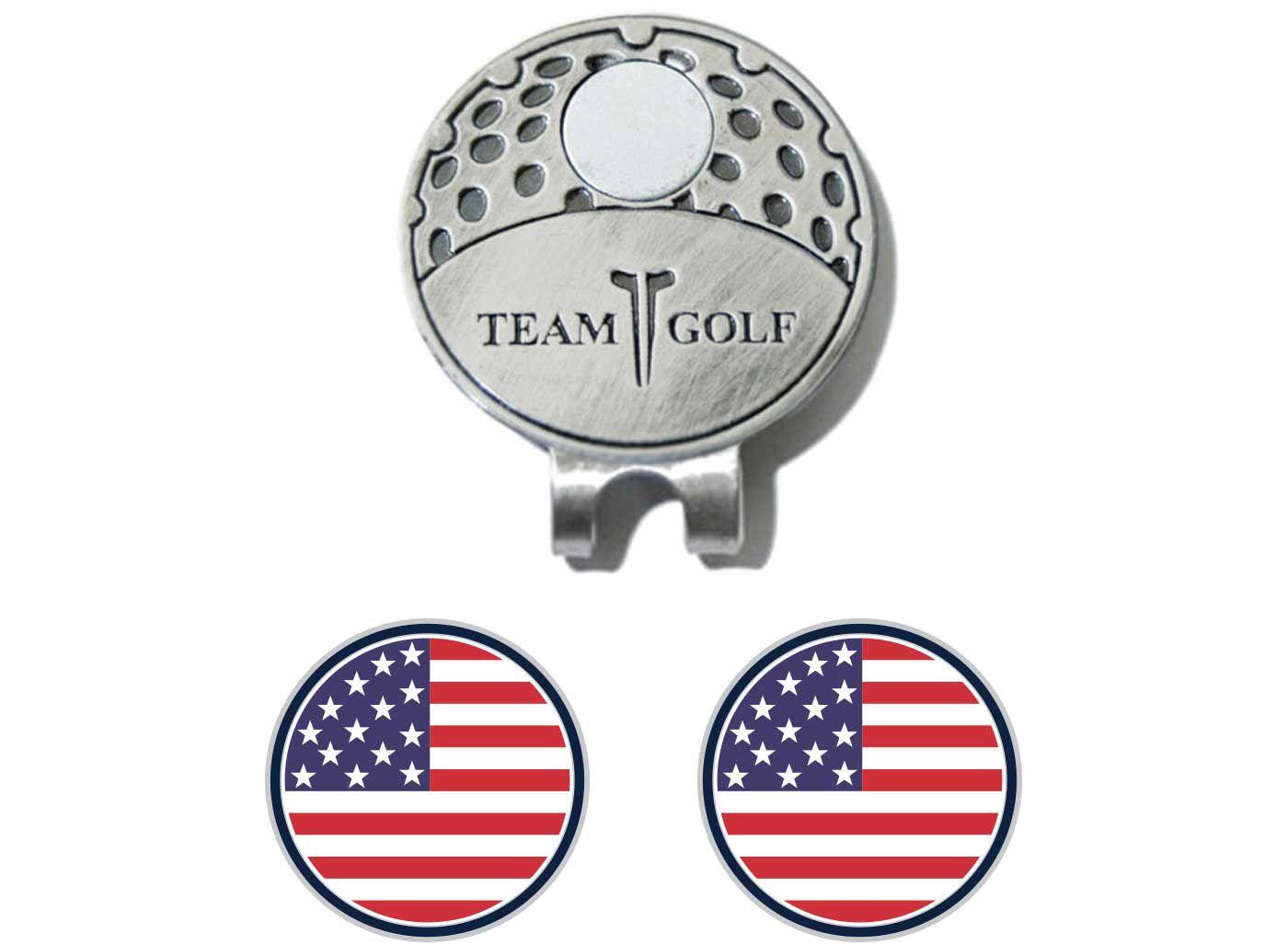 Team Golf USA Flag Cap Clip