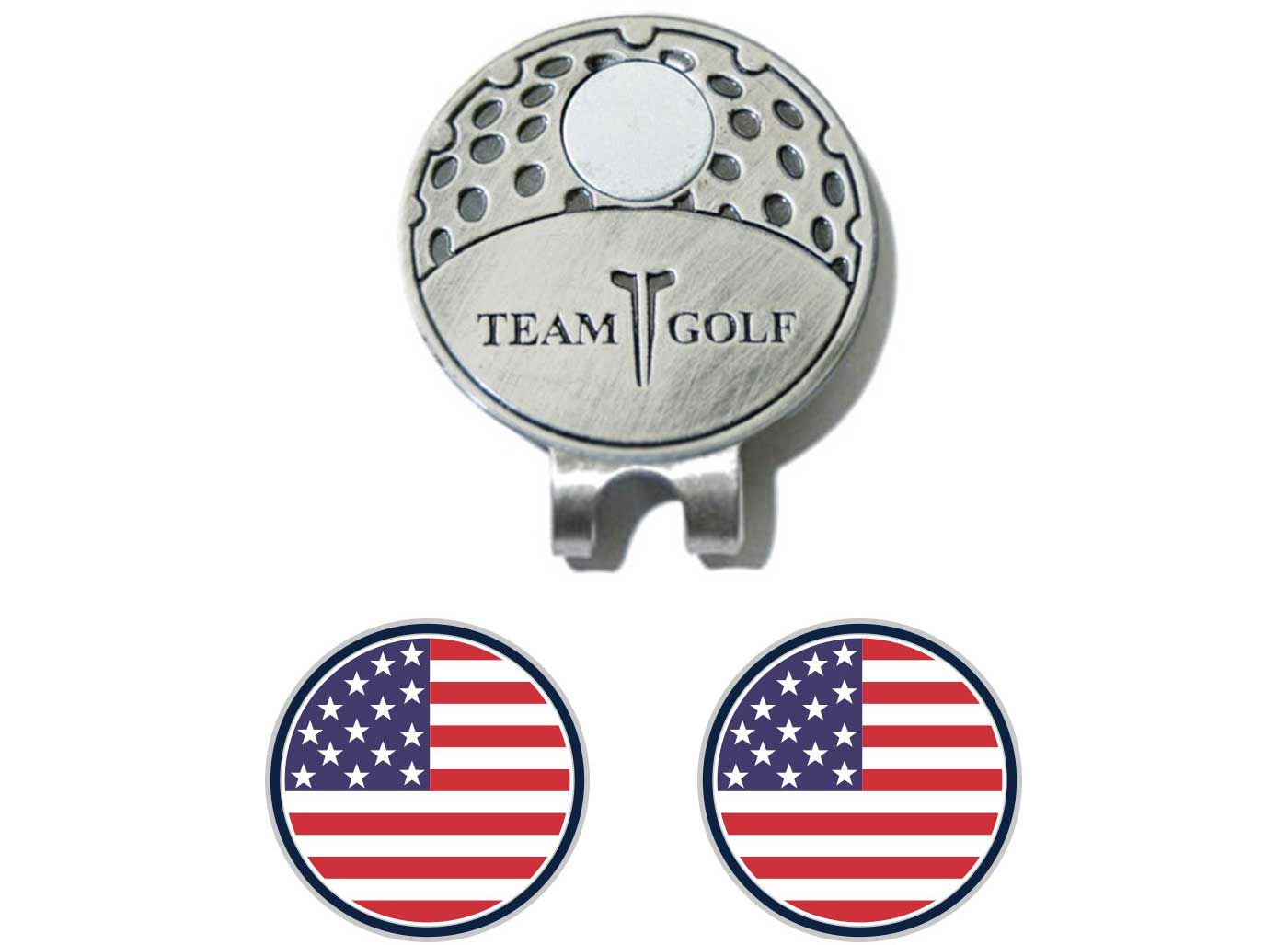 Team Golf USA Flag Cap Clip