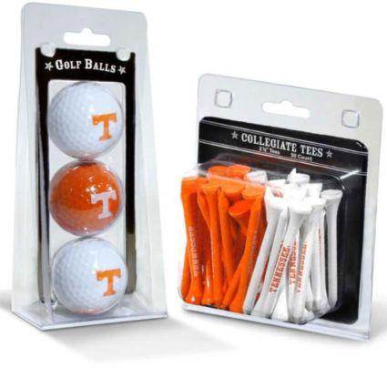 Team Golf Tennessee Volunteers Golf Balls And Tees