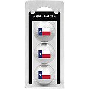Team Golf Texas Flag Golf Balls - 3 Pack