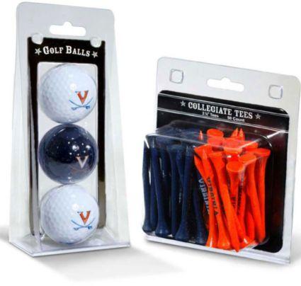Team Golf Virginia Cavaliers Golf Balls And Tees
