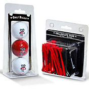 Team Golf Wisconsin Badgers Golf Ball and Tee Set
