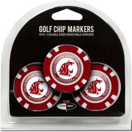 Team Golf Washington State Cougars Golf Chips - 3 Pack