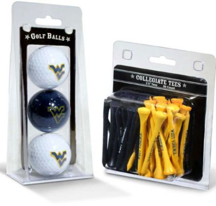 Team Golf West Virginia Mountaineers Golf Balls And Tees