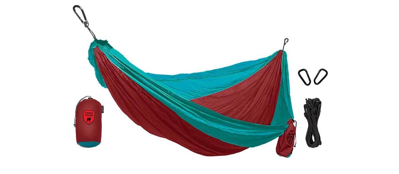 Grand Trunk Parachute Printed Nylon Double Hammock