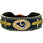 GameWear Los Angeles Rams NFL Team Color Football Bracelet