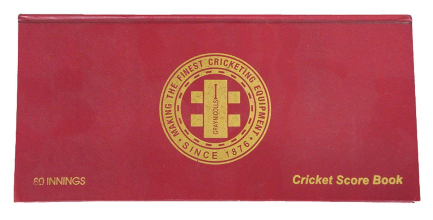 Gray Nicolls Cricket Portrait Score Book