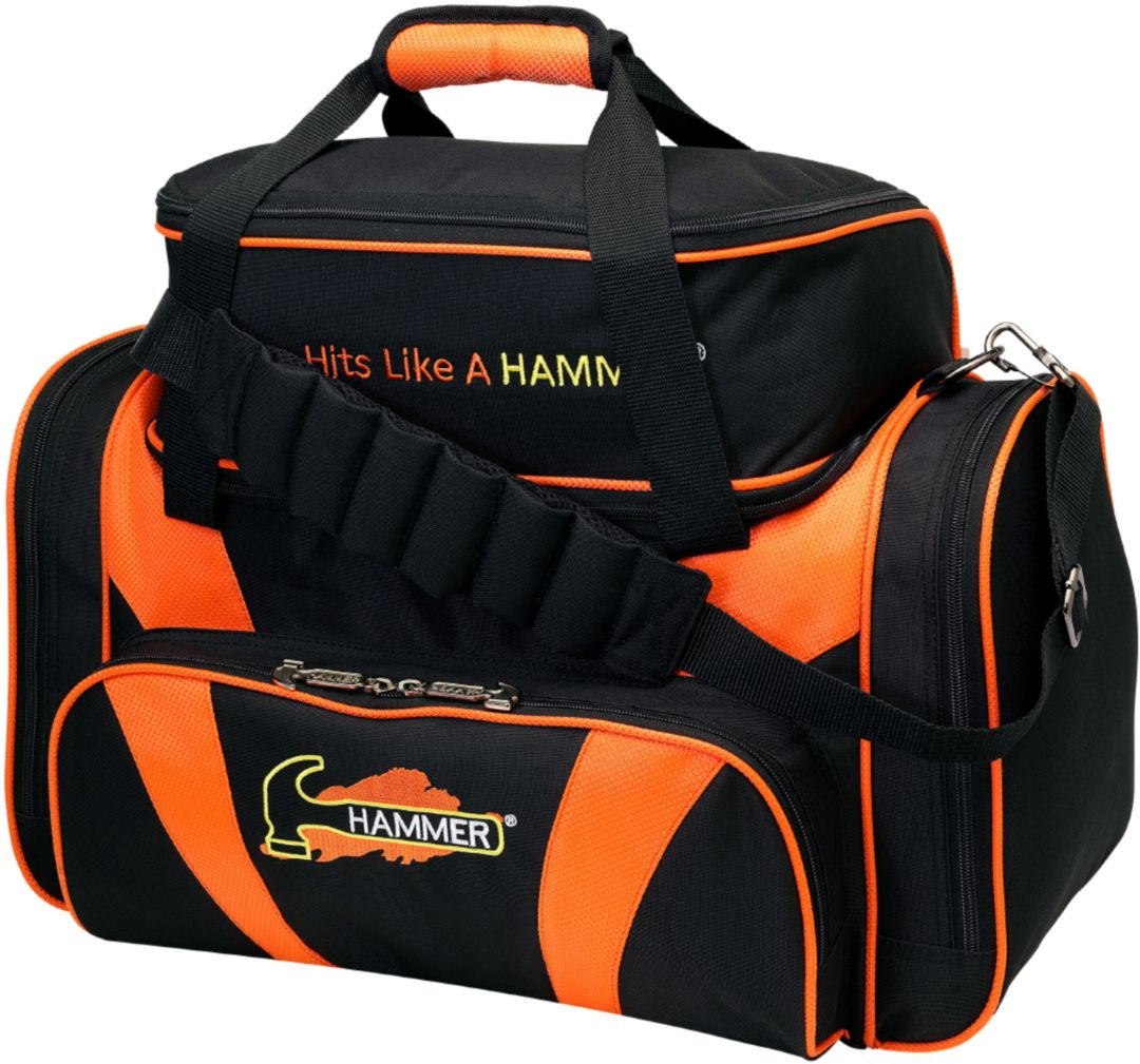 Hammer Deluxe Double Tote 2 Ball Bowling Bag
