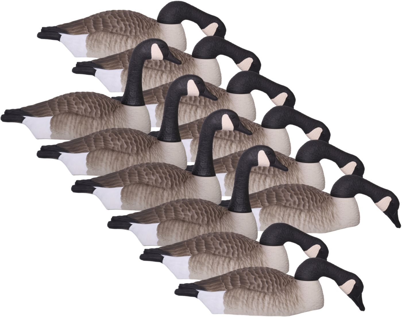 Hard Core Canada Goose Touchdown Shell Decoys – 12 Pack