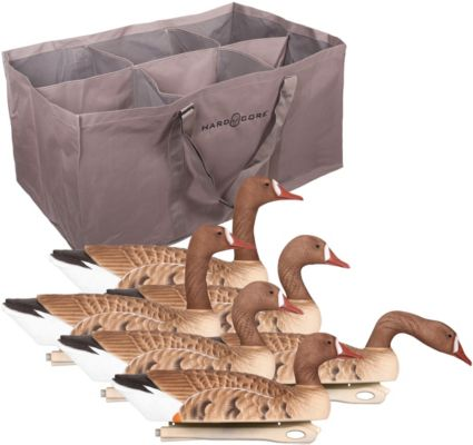 Hard Core Specklebelly Goose Floating Decoys with Bag - 6 Pack