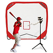 Heater Big League Soft Toss Pitching Machine & Pop-Up Net