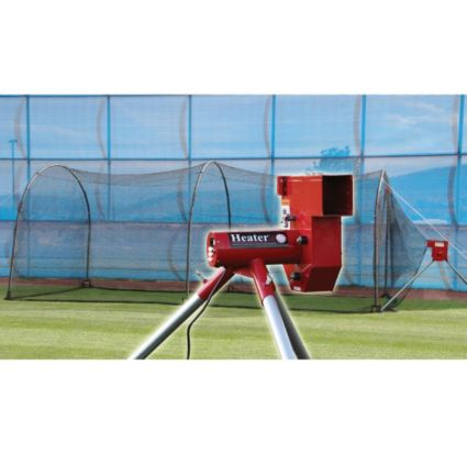 Heater Baseball Pitching Machine Amp Xtender 24 Batting
