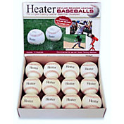 Heater Leather Pitching Machine Baseballs - 12 Pack
